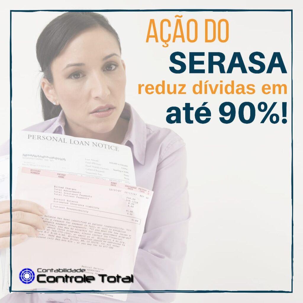 Ação do Serasa reduz dívidas de até R$ 1.000 para R$ 100,00. Entenda!